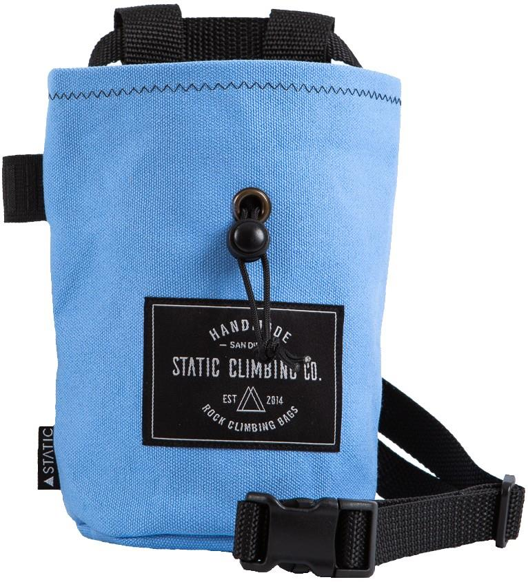 Static Canvas Rock Climbing Chalk Bag : Sky Blue