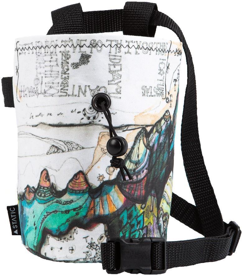 Static Artist Series Rock Climbing Chalk Bag : Mt. Waddinton