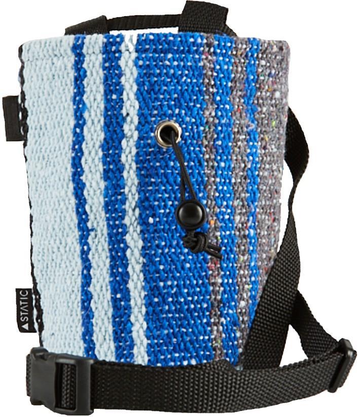 Static Traveller Series Rock Climbing Chalk Bag : Black, Grey, & Blue