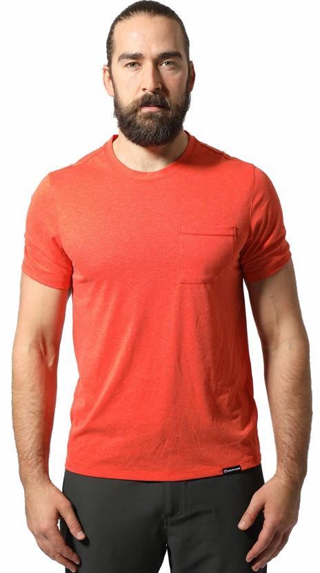 Montane Neon Quick Dry Cotton Blend Crew T-Shirt, S Firefly Orange