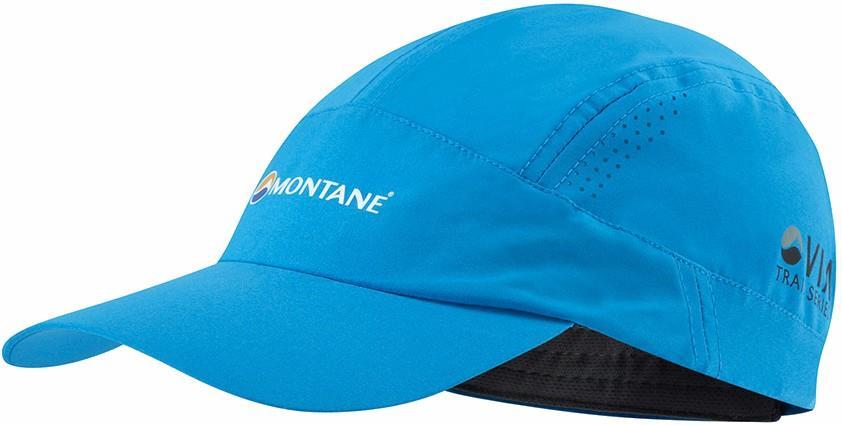 Montane Coda Trail Running Cap, Adjustable Cerulean Blue