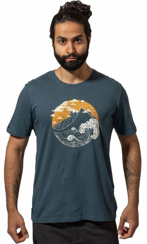 Montane Adult Unisex Great Mountain Cotton Rock Climbing T-Shirt, L Orion Blue