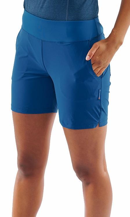 Montane Tucana Women's Hiking Shorts, UK 14 Narwhal Blue