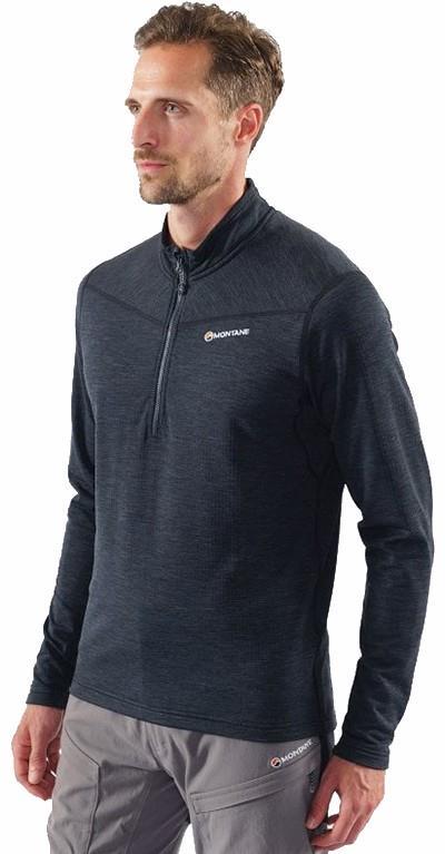 Montane Adult Unisex Protium Pull-On Men's Technical Fleece, S Charcoal