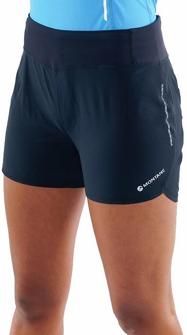 "Montane Katla 4"" Women's Trail Running Shorts, UK 10 Black"