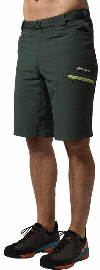 Montane Dyno Stretch Hiking Lightweight Shorts, M Arbor Green