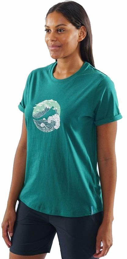 Montane Great Mountain Women's Climbing T-shirt, UK 8 Wakame Green
