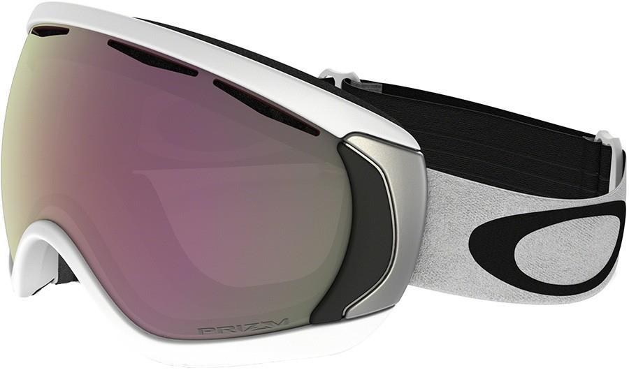 Oakley Canopy Ski/Snowboard Goggles L Matte Whte Prizm Hi Pink 2020