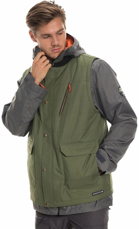 686 SMARTY 4-in-1 Complete Ski/Snowboard Jacket, L Surplus Green