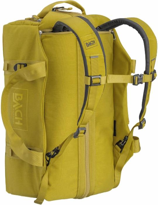 BACH Dr Duffel Travel Luggage Bag, 30L Yellow Curry