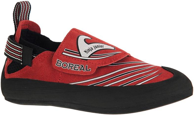 Boreal Ninja Junior Kid's Rock Climbing Shoe UK 11-11.5   EU 29-30 Red