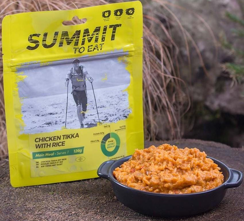 Summit To Eat Chicken Tikka & Rice Camping & Trekking Food, Large