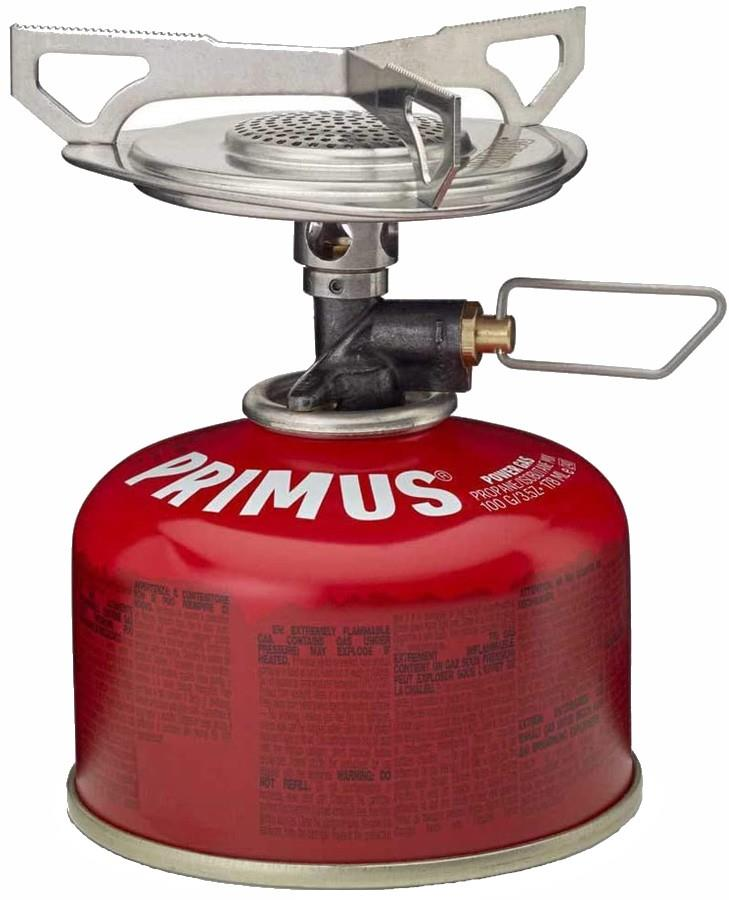 Primus Essential Trail Stove Lightweight Camping Stove, Silver