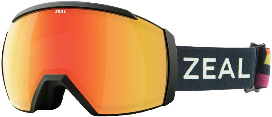Zeal Hemisphere Phoenix Snowboard/Ski Goggles, M Picasso