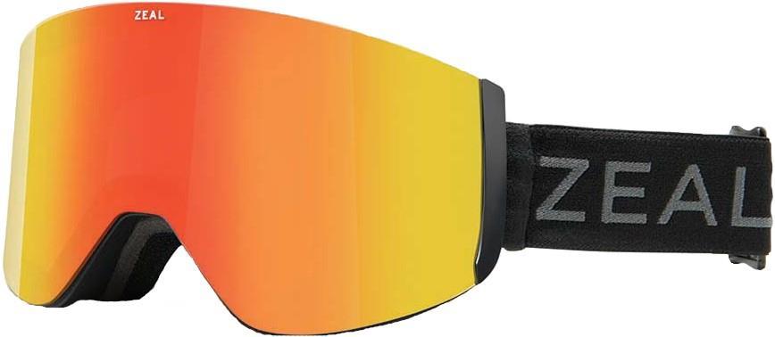 Zeal Hatchet Polarized Phoenix Snowboard/Ski Goggles, M Dark Night