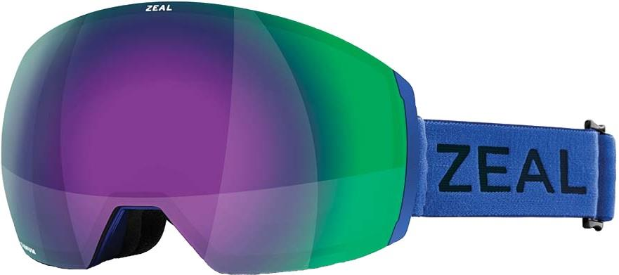 Zeal Portal XL Jade Mirror Snowboard/Ski Goggles, L Colbalt