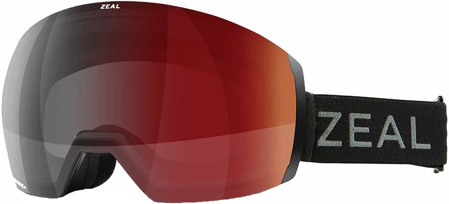 Zeal Portal XL Automatic GB Snowboard/Ski Goggles, L Dark Night