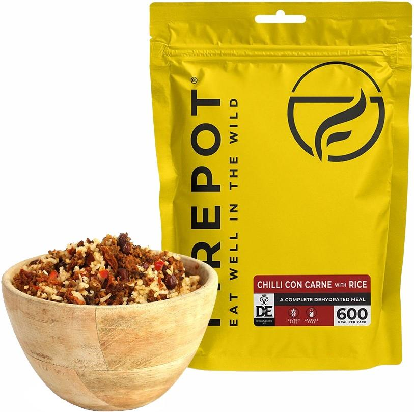Firepot Chilli Con Carne With Rice Camping & Backpacking Food