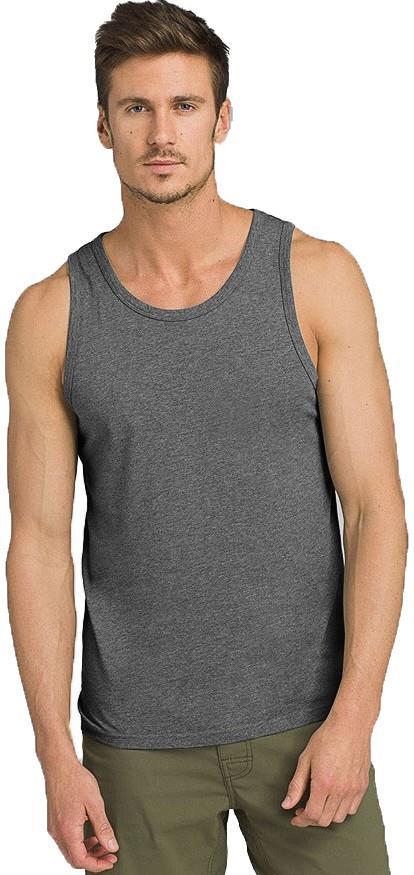 Prana Men's PrAna Tank Top Vest, M Charcoal Heather