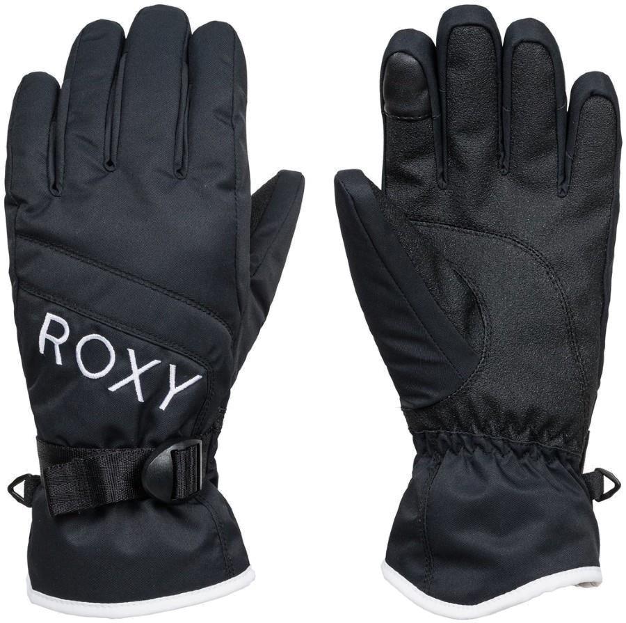 Roxy Jetty Solid Women's Snowboard/Ski Gloves, L True Black
