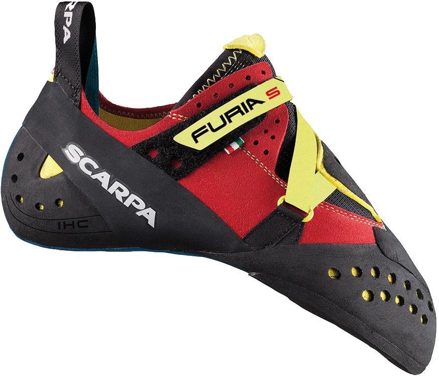 Scarpa Furia S Rock Climbing Shoe, UK 6.75   EU 40.5 Parrot Yellow