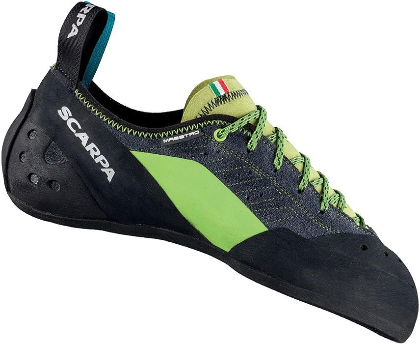 Scarpa Adult Unisex Maestro Rock Climbing Shoe, UK 11.5 | EU 46.5 Ink