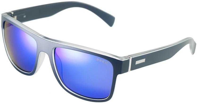 Sinner Adult Unisex Skagen Sintec Winter/Summer Blue Oil Wayfarer Sunglasses, M Blue