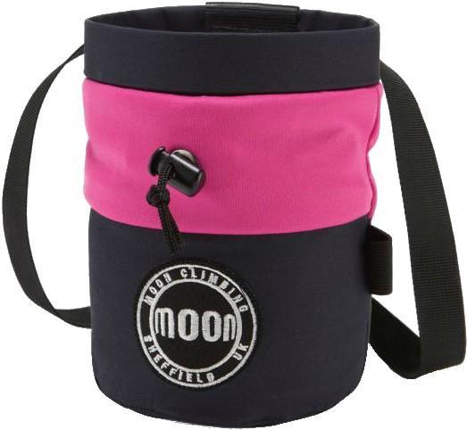 Moon S7 Retro Rock Climbing Chalk Bag, Navy/Pink