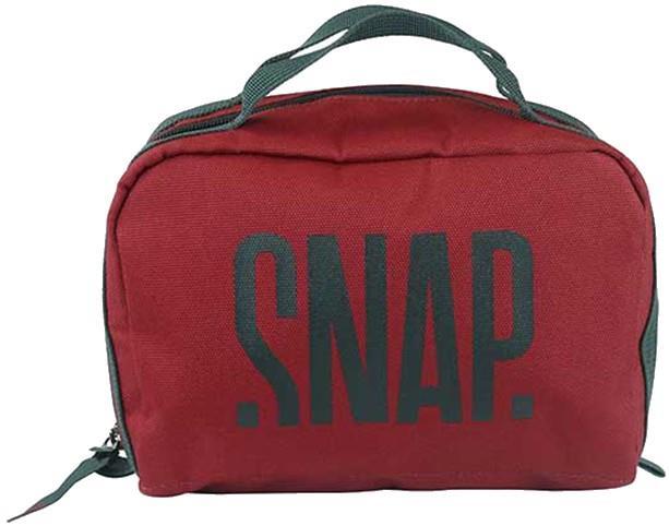 Snap Dopp Kit Toiletries Bag, 22 x 10 x 15 cm, Burgundy
