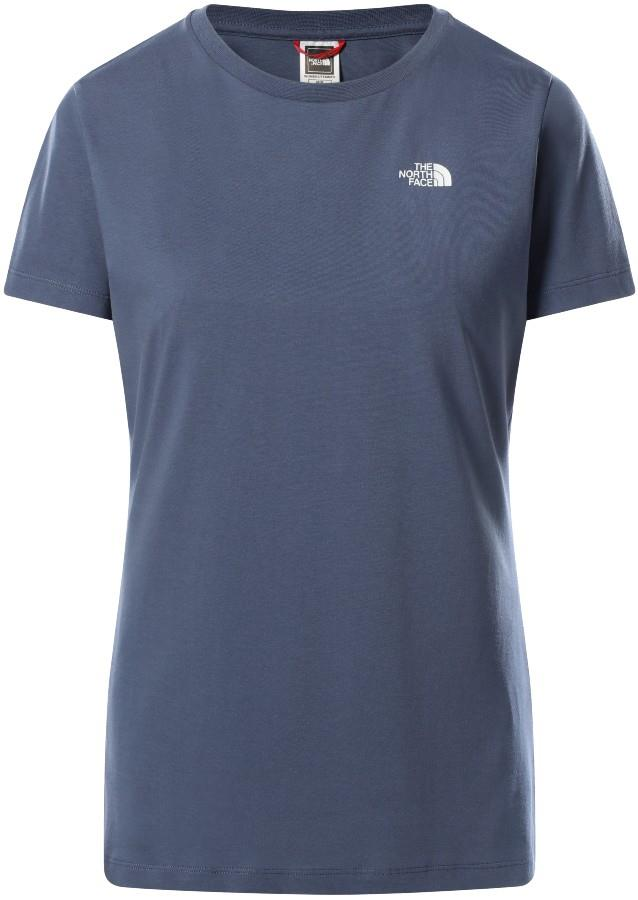 The North Face Simple Dome Women's T-Shirt, UK 10 Vintage Indigo