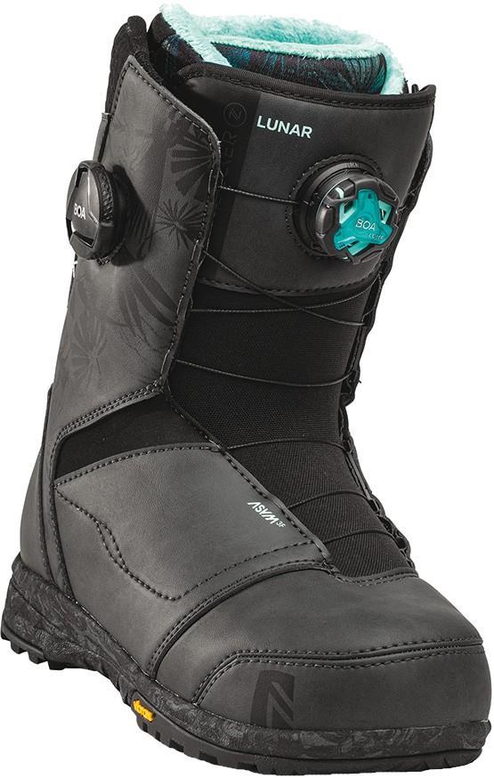 Nidecker Womens Lunar Focus Boa Women's Snowboard Boots, Uk 5.5 Black 2022