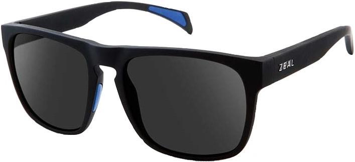 Zeal Capitol Sunglasses M Black Matte Dark Grey