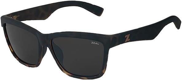 Zeal Kennedy Sunglasses M Torched Tortoise Dark Grey