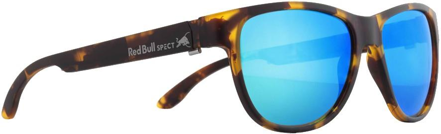 Red Bull Spect Wing 3 Green Polarised Sunglasses, M/L Matte Tortoise