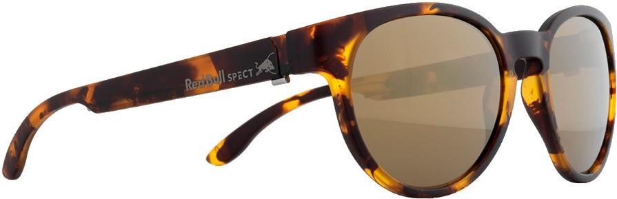 Red Bull Spect Wing 4 Brown Polarised Sunglasses, M/L Matte Tortoise
