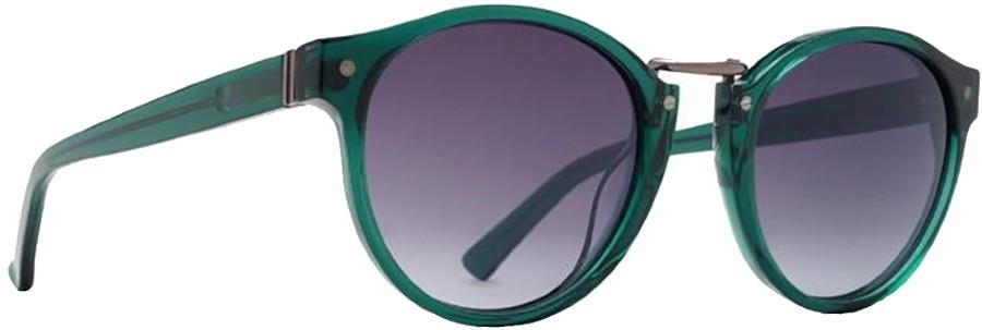 Von Zipper Stax Grey Gradient Lens Sunglasses, M Translucent Emerald