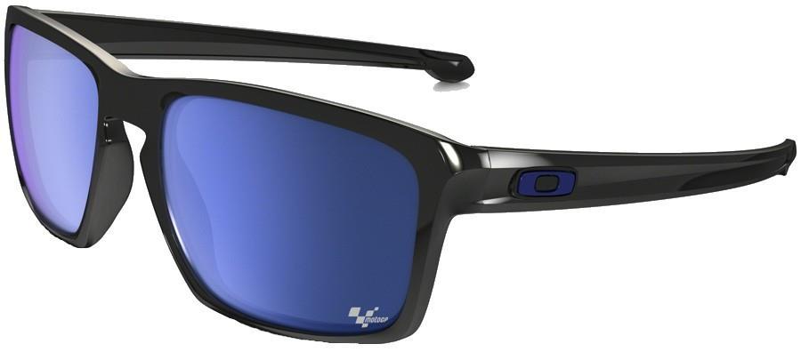 Oakley Sliver Ice Iridium Sunglasses, M Polished Black
