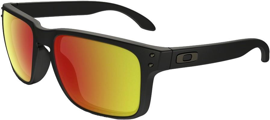 Oakley Holbrook Prizm Ruby Sunglasses, Black