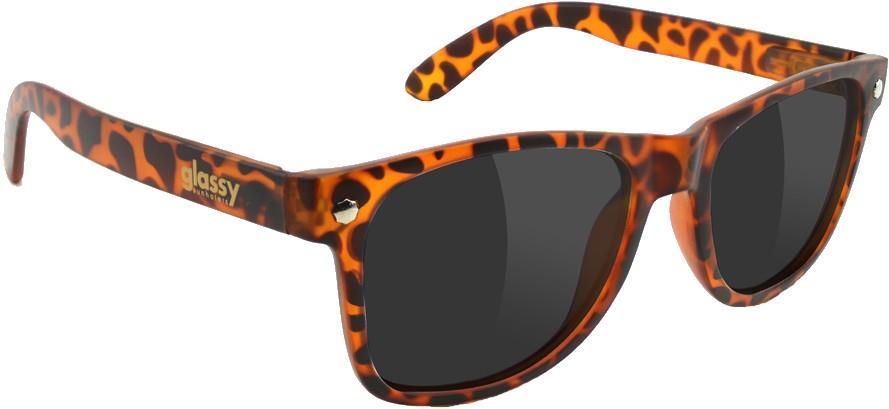 Glassy Sunhaters Leonard Sunglasses M Tortoise Grey Lens
