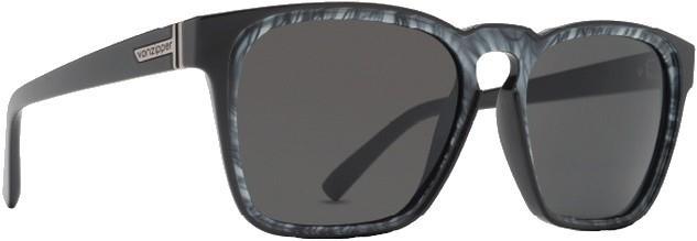 Von Zipper Levee Gradient Lens Sunglasses, M Black White Swirl