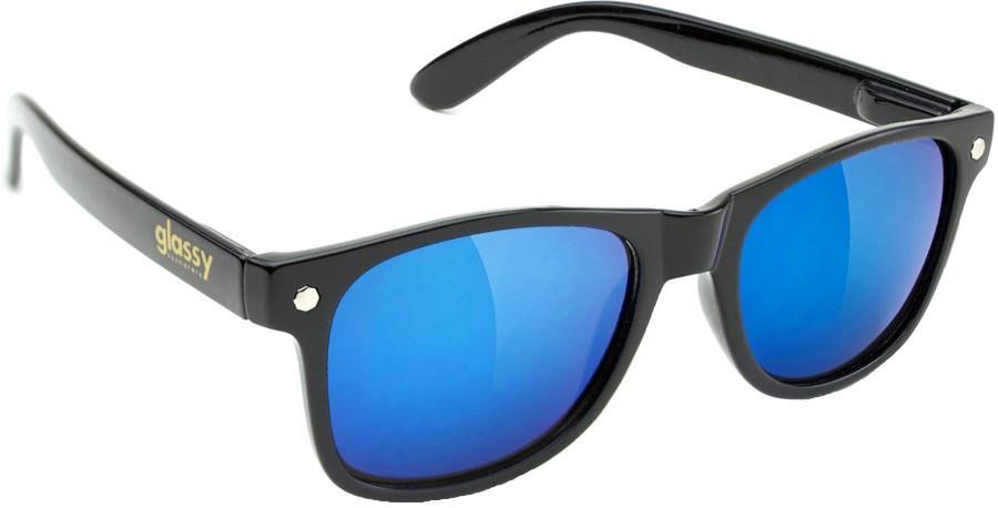 Glassy Sunhaters Leonard Sunglasses, M Black/Blue