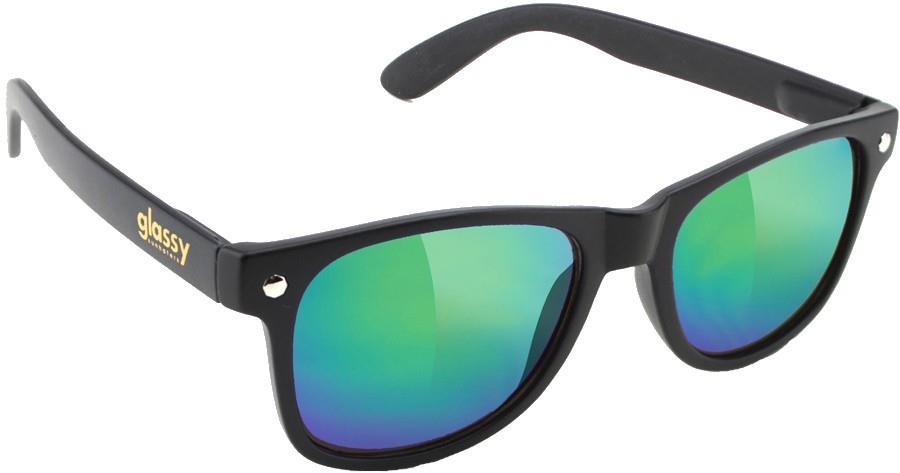 Glassy Sunhaters Leonard Sunglasses, M Matte Black
