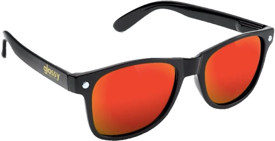 Glassy Sunhaters Leonard Sunglasses, M Black