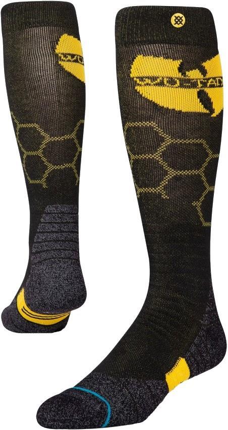 Stance Snow Merino Wool Ski/Snowboard Socks, M Wu Tang Hive Show