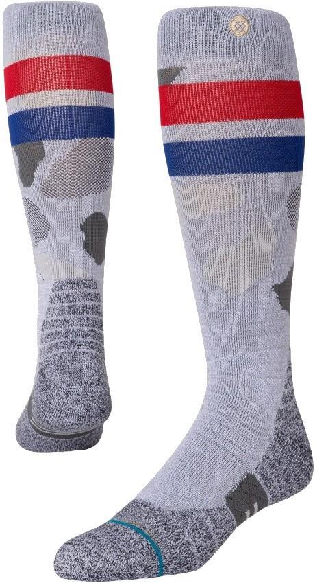 Stance Snow Merino Wool Unisex Ski/Snowboard Socks, M Praisley