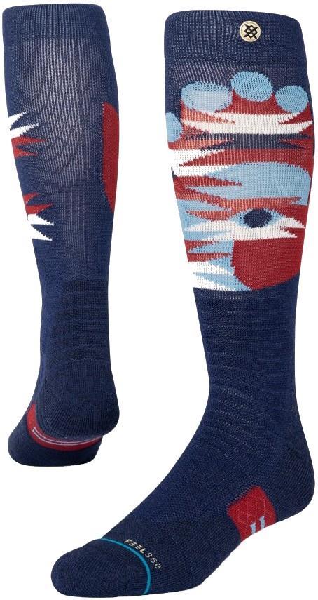 Stance Snow Merino Wool Unisex Ski/Snowboard Socks, M Landers