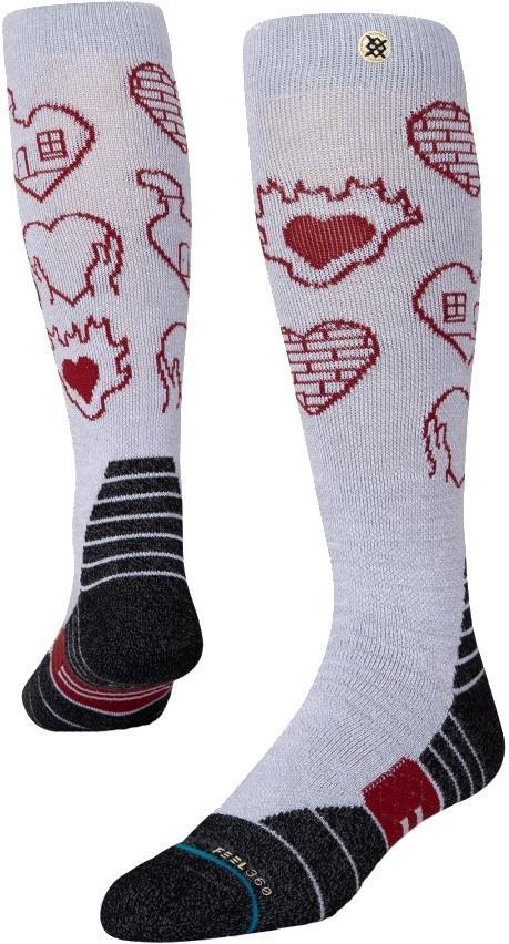 Stance Snow Merino Wool Unisex Ski/Snowboard Socks, S Poma