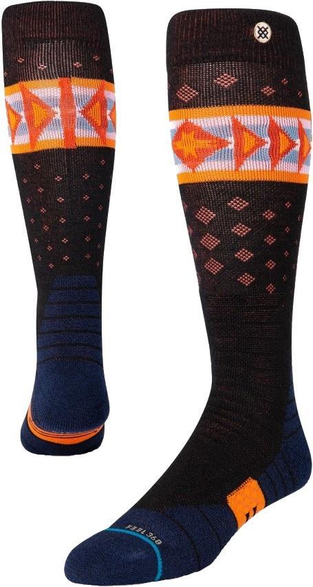 Stance Snow Merino Wool Unisex Ski/Snowboard Socks, L Ledger