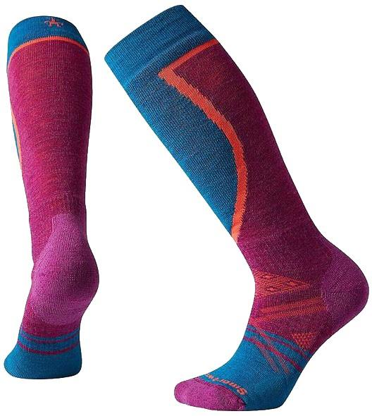 Smartwool Women's PHD Ski Medium Ski Socks M Meadow Mauve