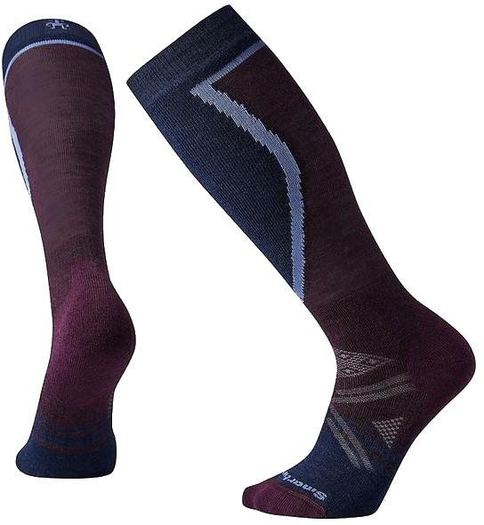 Smartwool Women's PHD Ski Medium Ski Socks M Bordeaux